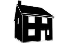 Detached house illustration