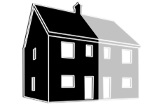 Semi-Detached house illustration