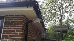 Replacement fascias soffits ogee guttering Bishops Waltham