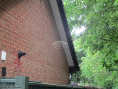 Rosewood bargeboards, with white soffit full replacement in Romsey