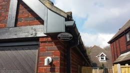 Anthracite Grey guttering Hamble