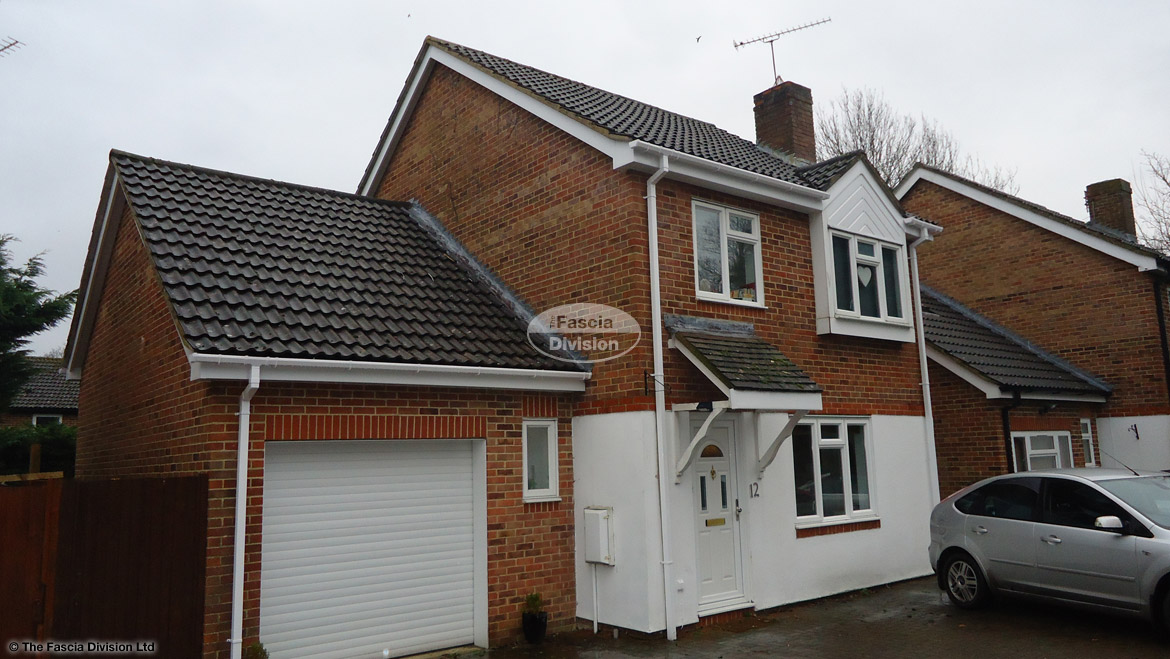 Full Replacement White Fascia Board Soffit Guttering Chandlers Ford, Eastleigh.