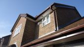 Brown square guttering replacement Winchester