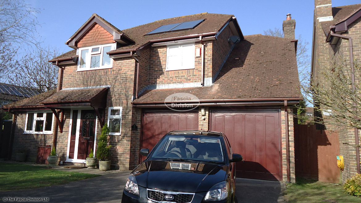 Full replacement of soffits and fascias in Winchester, Hampshire