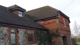 New replacement fascias, soffits and guttering in Alresford