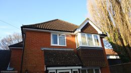 Replace fascia soffit with white UPVC