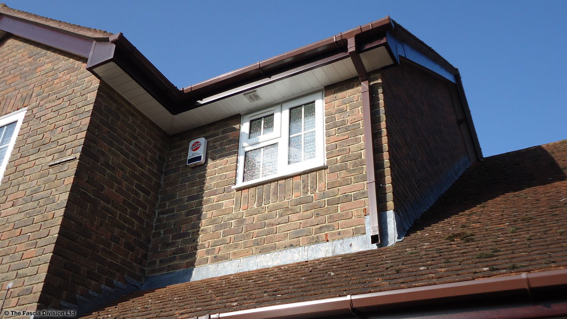 Replacement fascias and soffits in Winchester, Hampshire
