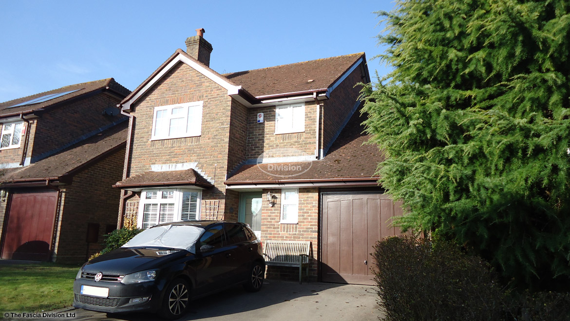 Replacement Fascias And Soffits In Winchester Hampshire