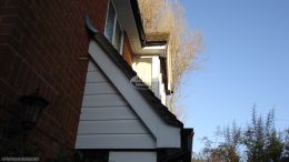 UPVC white cladding