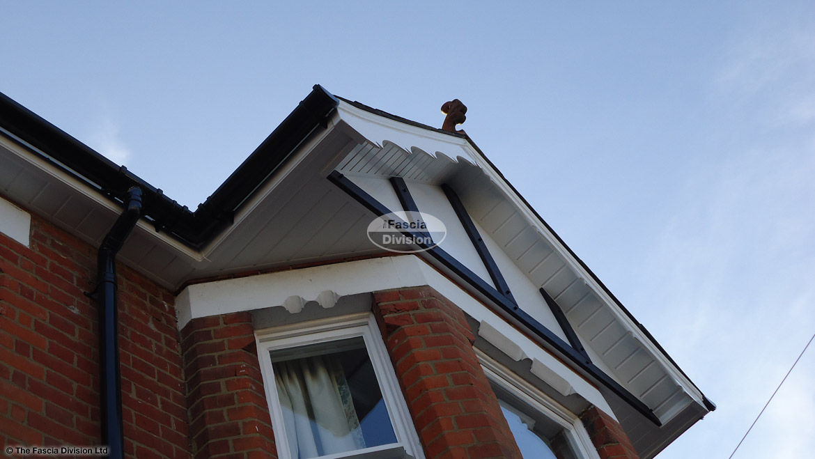 Installation Of Decorative Bargeboards Ogee Fascia Boards And Mock