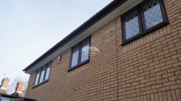 Replace fascias, soffits and guttering to a detached house in Eastleigh
