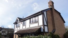 Replace mock tudor beams and fascias and soffits Eastleigh