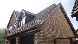 Full Replacement Fascia Soffit And Guttering On A Detached Property In Hedge End Southampton
