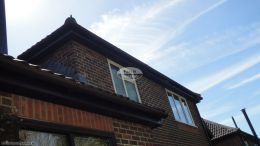 Full replacement rosewood fascias tongue and groove soffits locksheath rooftrim