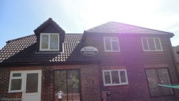 Installation of new rosewood fascias soffits guttering rooftrim contractor