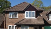 Locksheath recent full replacement rosewood fascias soffits and guttering