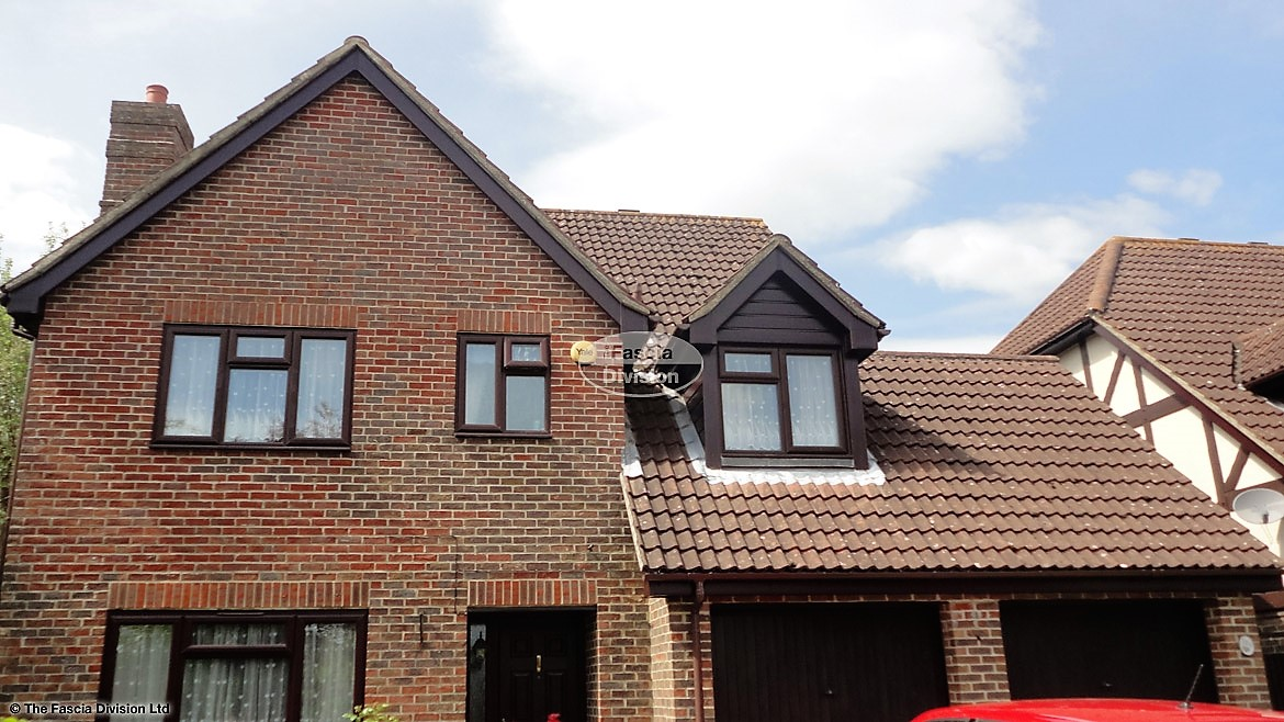 Recent Fascia Soffit Guttering Replacement Hedge End Detached Property Southampton