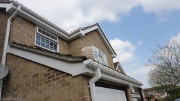 Southampton recent full replacement fascias soffits guttering white