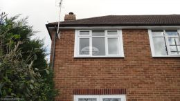 fascia replacement southampton new soffits black half round guttering eastleigh southampton