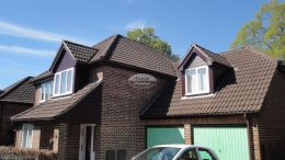 recent full replacement rosewood standard fascias tongue and groove soffits guttering