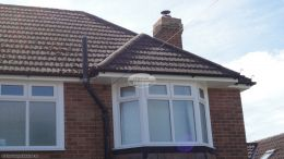 soffit fascia guttering replacement black guttering pipe rooftrim contractor