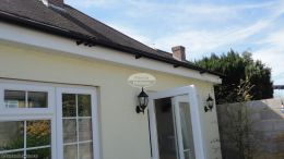 white soffit fascia guttering recent full replacement southampton