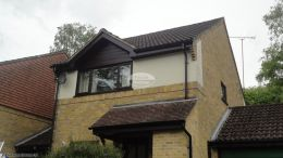 Full Replacement Fascias Soffits and Guttering on a detached property in Winchester