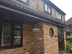 Installation of UPVC Fascias, Soffits and guttering on in Hedge End