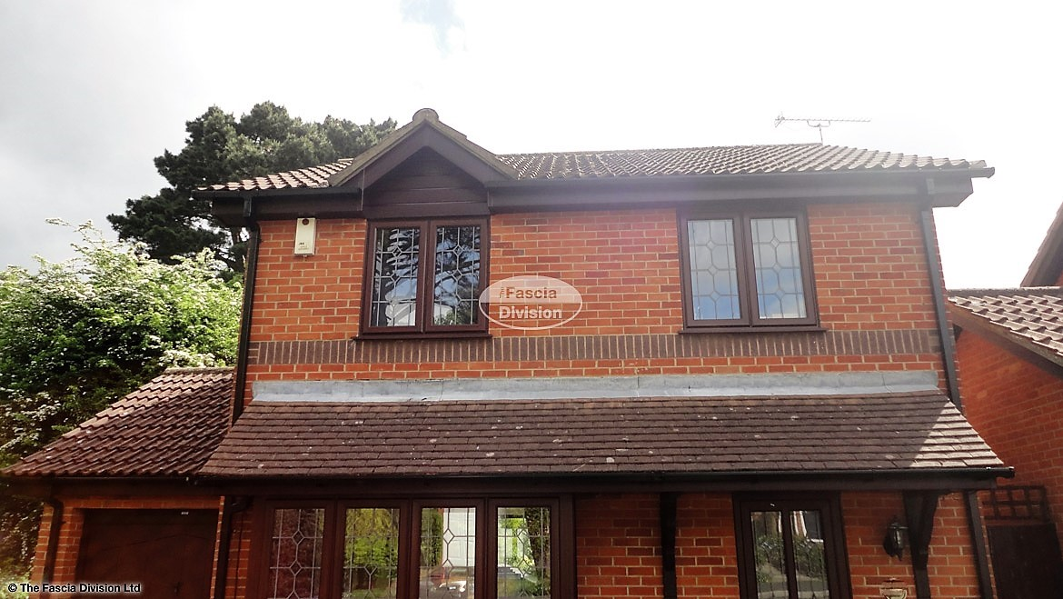 Recent Full Installation Of Upvc Fascia Boards Soffits And Guttering On A Detached Property In West End Southampton