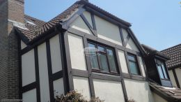 Full replacement UPVC fascias soffits and guttering Hedge End Southampton