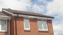 Recent full installation of white UPVC fascias soffits and guttering West End Southampton