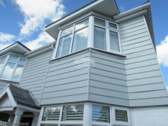 Fibre cement weatherboard cladding installation Southampton
