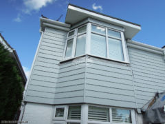Fibre cement weatherboard cladding installation