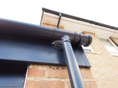 RAL coloured UPVC fascia and guttering installation