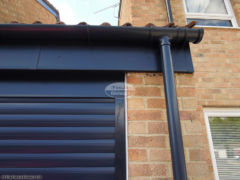 RAL coloured UPVC fascia, soffit and guttering installation
