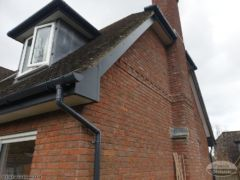 Anthracite grey UPVC fascias and guttering