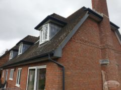 Anthracite grey UPVC fascias and guttering Winchester