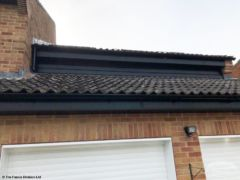 Black fascias and guttering Botley