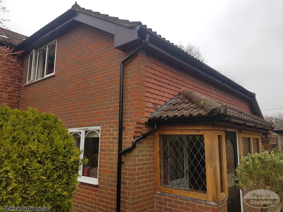 Fascia and soffit work in Alresford