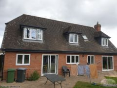 Grey fascias and guttering