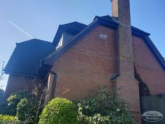 Rosewood fascia and soffit installation in Winchester